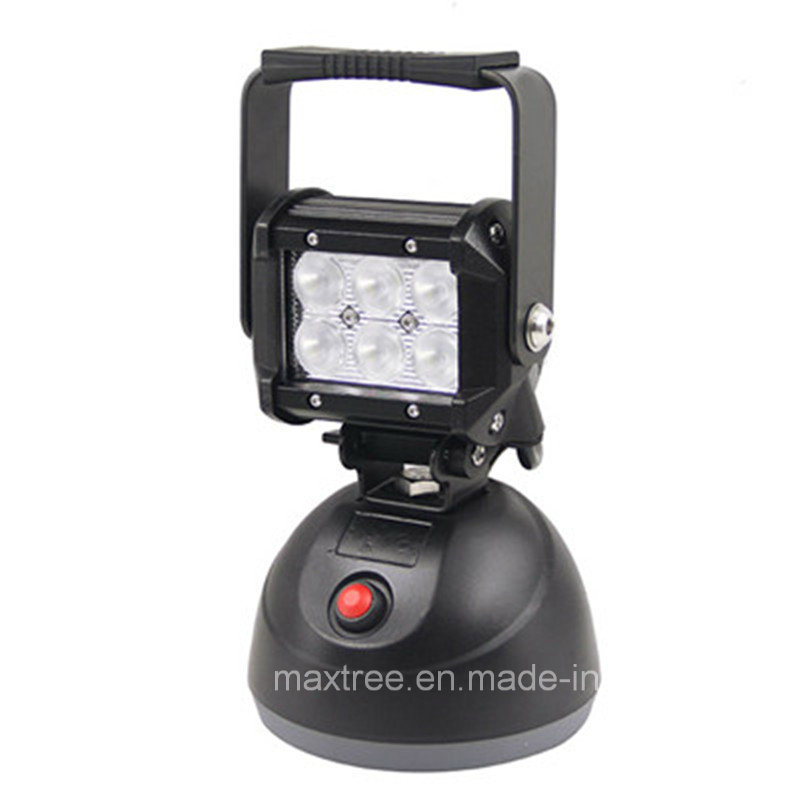 Rechargeable Standard Emergency Down Work Light with Battery