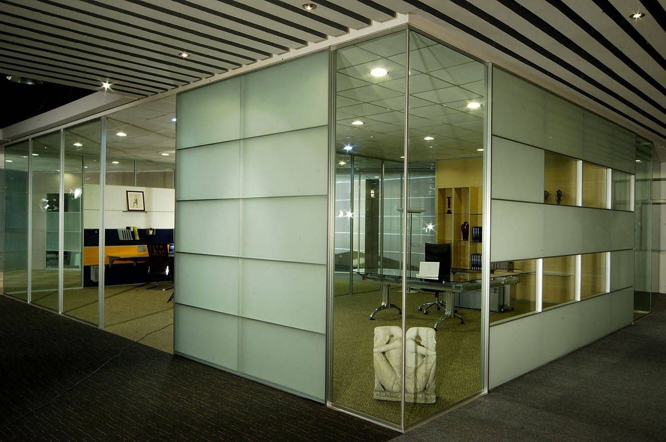 Modern Aluminum Glass Wooden Cubicle Workstation /Office Partition (NS-NW321)