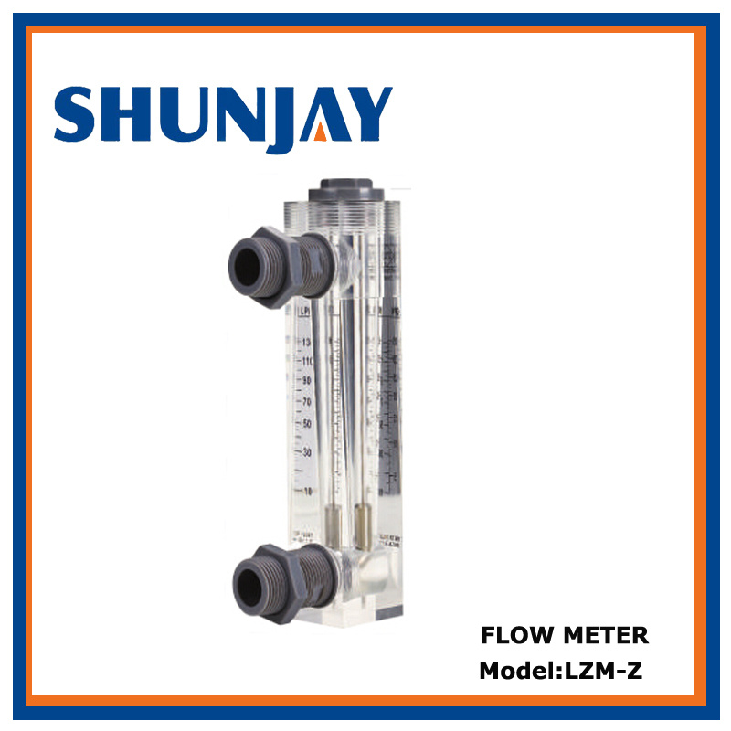 High Accuracy Acrylic Water Flow Rate Meter