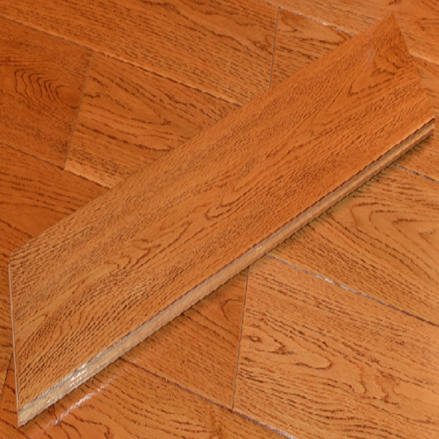 Middle Size Laminated Wood Flooring