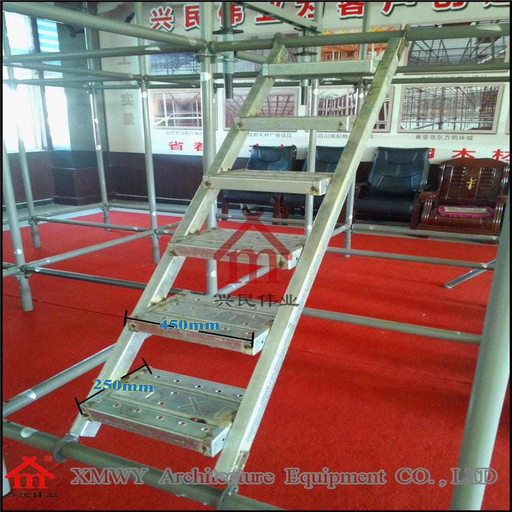Skid Resistance Steel Scaffolding Ladders with Hooks