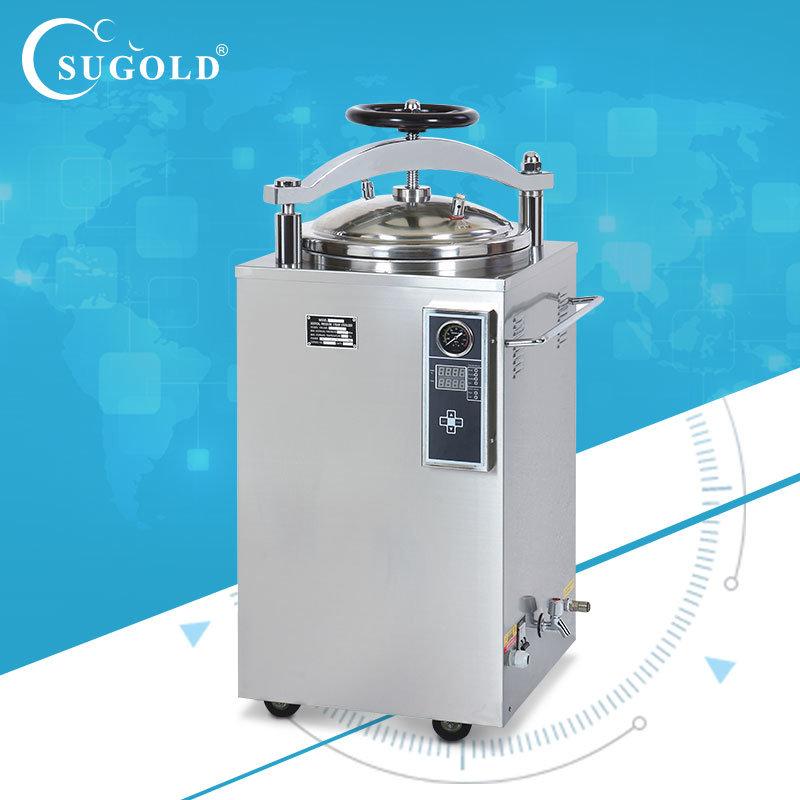 Automatic Digital Display Pressure Steam Sterilizer Autoclave Sugold