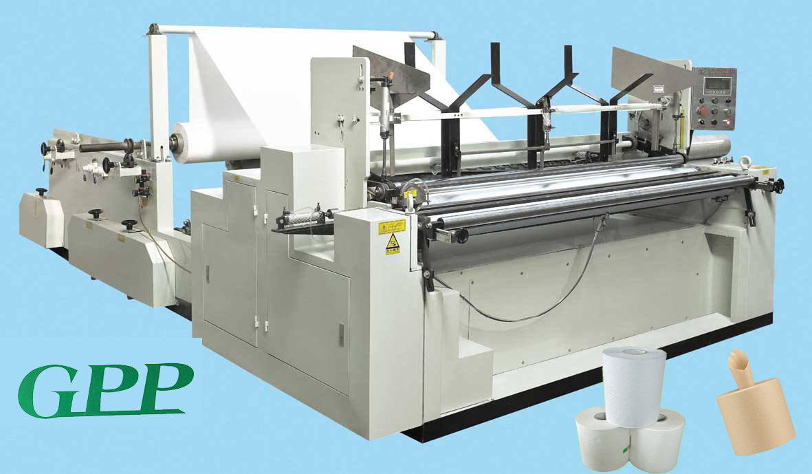 Fully Automatic Hand Roll Towel Making Machine