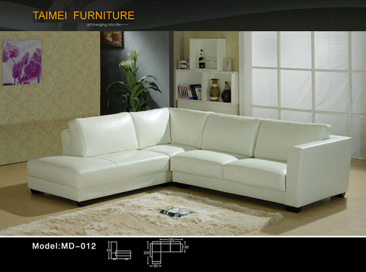 Best Selling Leather Sectional Sofa (L shape)