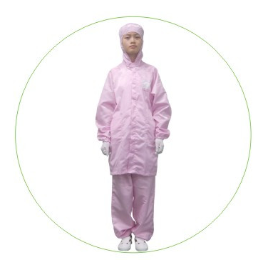 Factory Price ESD Clothing Protective Workwear ESD Garment with Hat