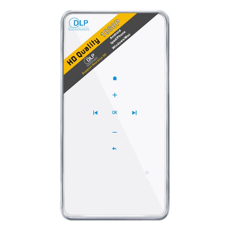 P1 Projector 1080P DLP Mini Pocket Bluetooth Projector Mini Smart WiFi Projector