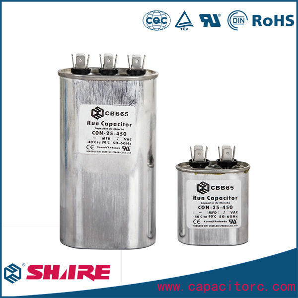 Cbb65 AC Motor Run Capacitor for Air Conditioner Compressor