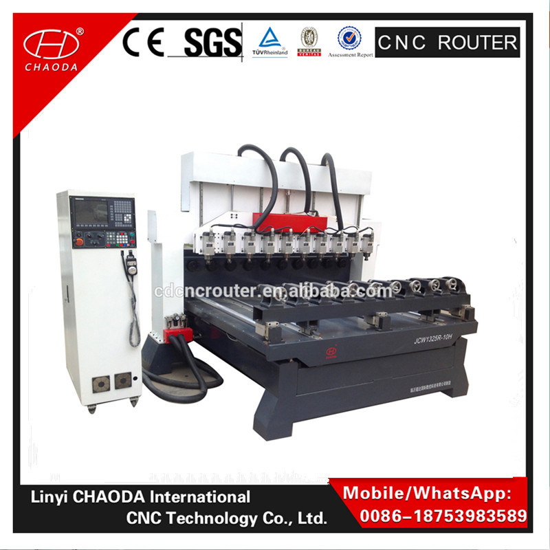 Cheap! ! 4 Axis CNC Wooden Leg Carving Machine Engraving Router