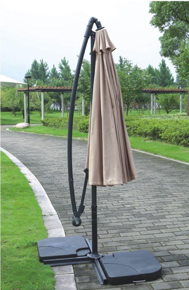 Outdoor Garden Aluminum Parasol
