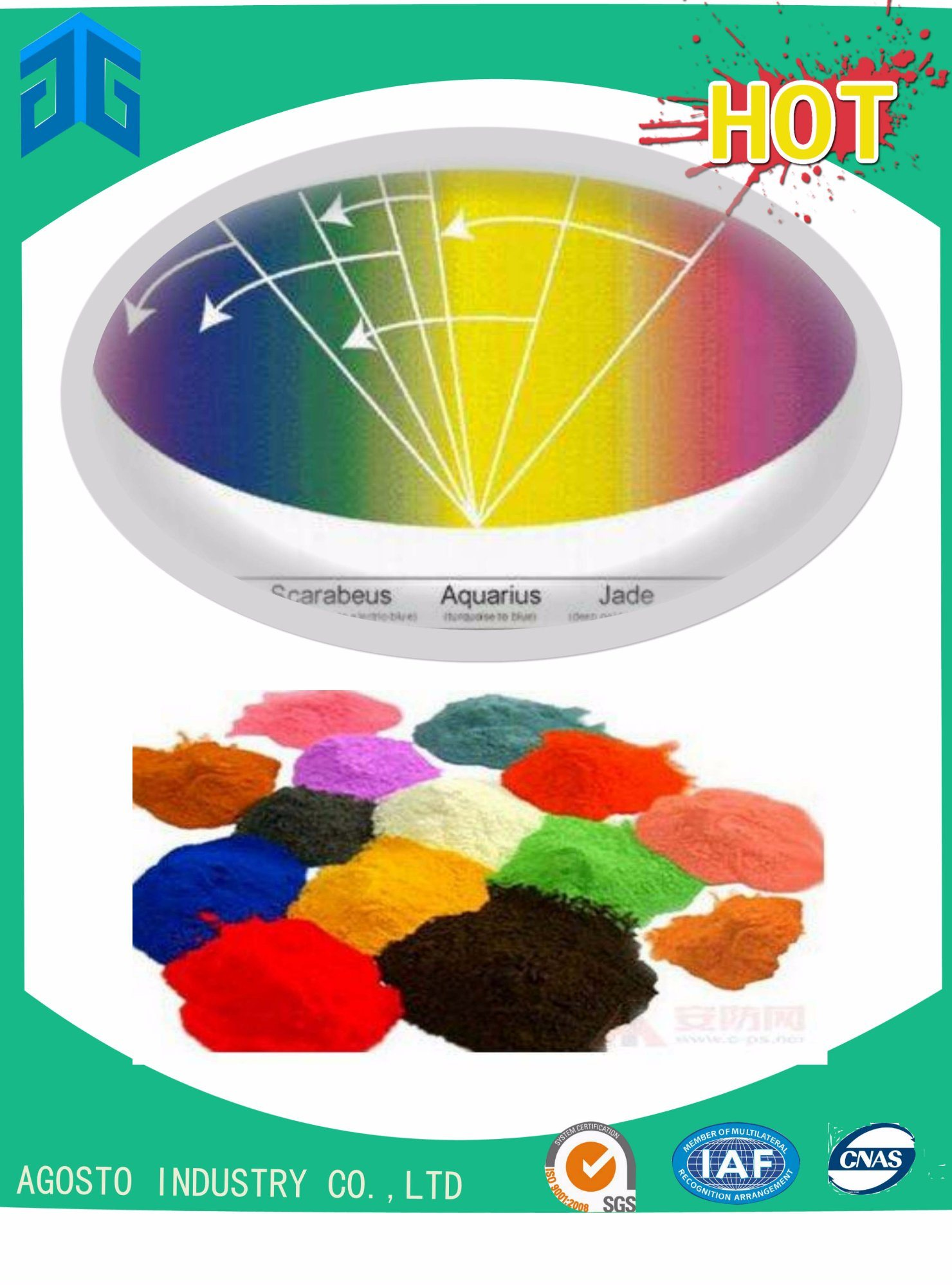 Colorful Effect Pigment with Good Performance