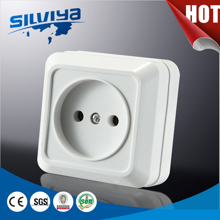 EUR 1 Gang Non-Grounding Wall Switch No Earthing Europeand Standard 16A