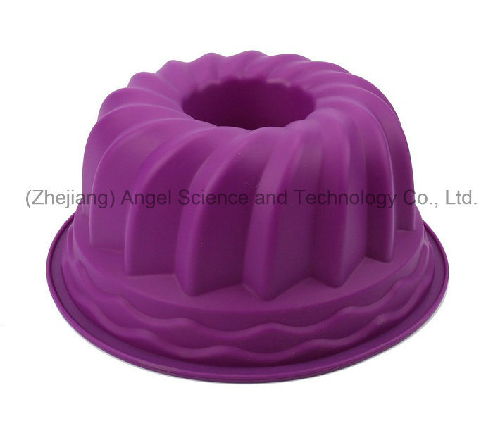 Hot Sale 9 Inch Party Silicone Bakeware Cake Mold Sc56
