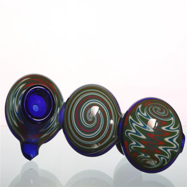 Glass Smoking Pipes Best Spoon Pipes Wathet Blue Color