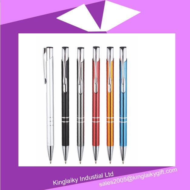 Lowest Price Stationery Aluminium Metal Pen 0.17 Us Dollar
