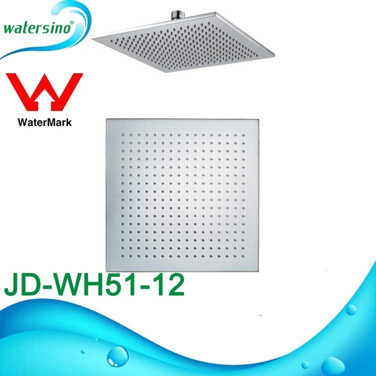 Square Stainless Steel 304 Shower Head with High Quality