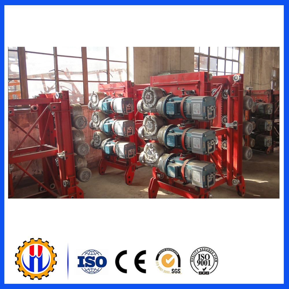 Construction Hoist Electric Motor Gear Speed Reducer
