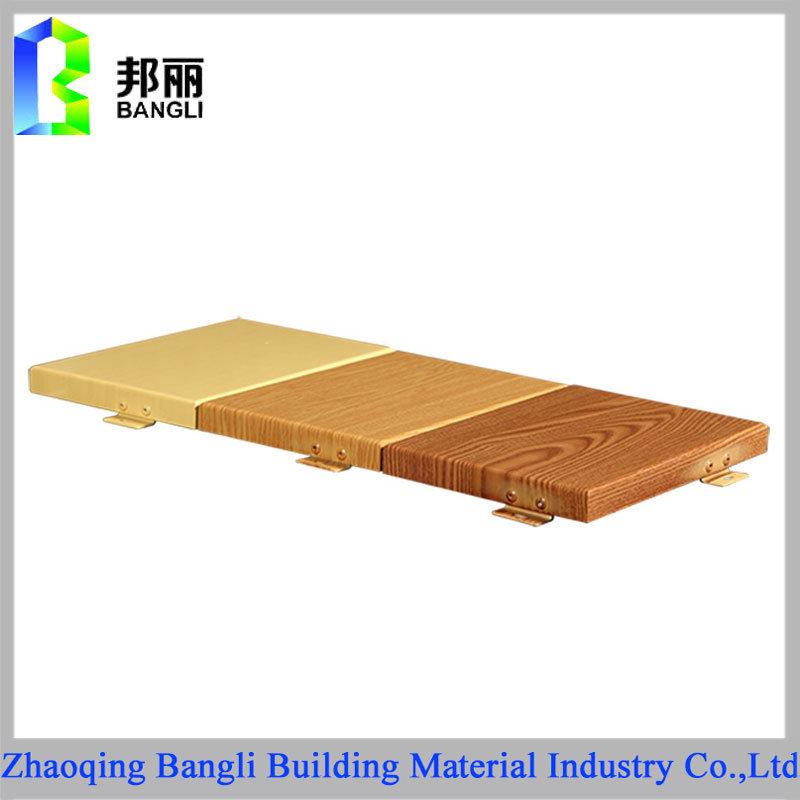 Wood Grain Coated Aluminum Panel Anodized Aluminum Sheet