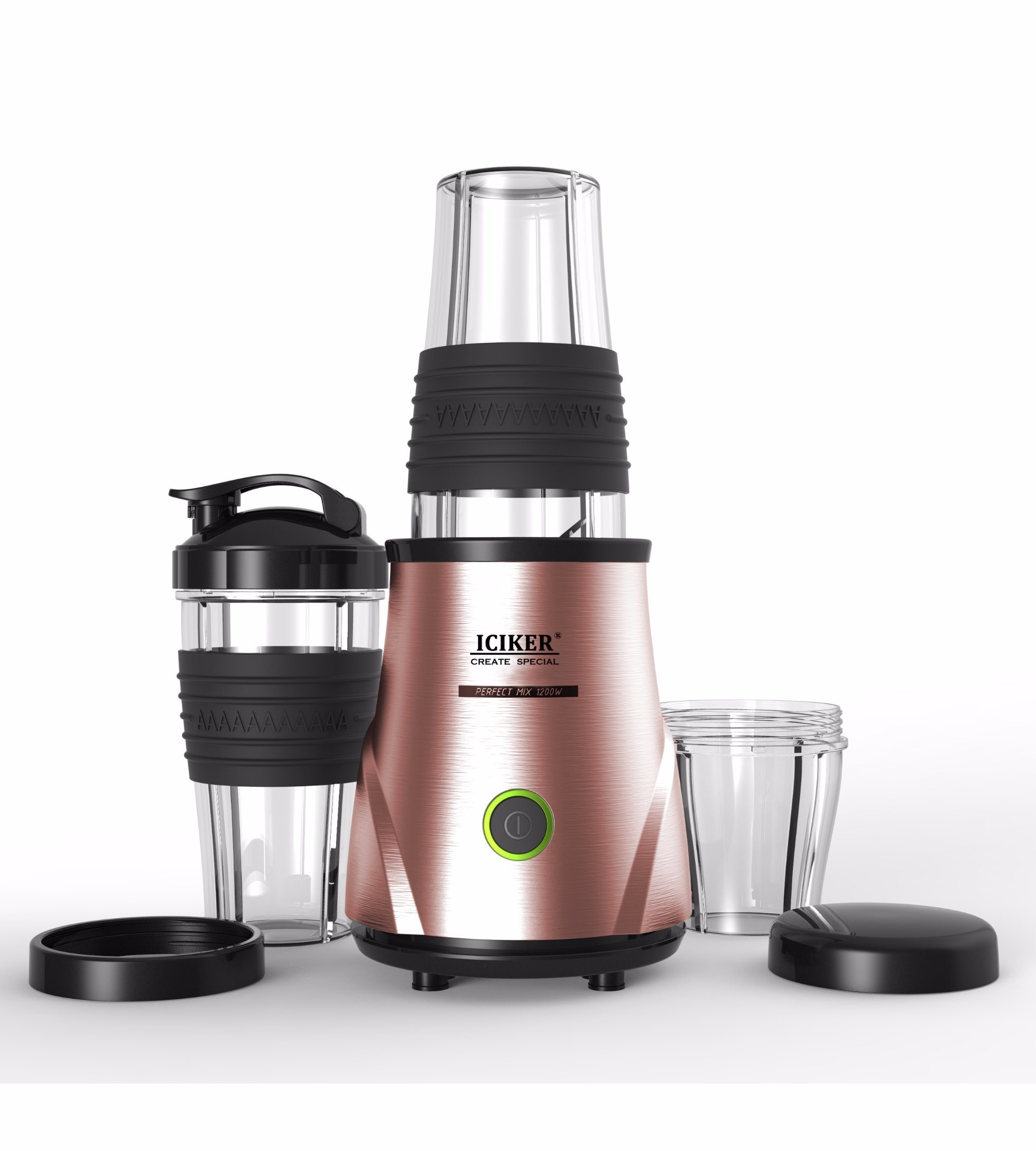 Juicer Extractor with BPA-Free Go Cup