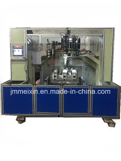 CNC 5 Axis 2 Heads Drilling and 1 Head Tufting Brush Machine