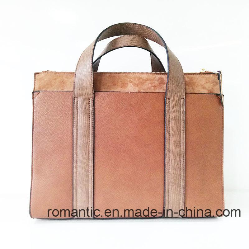 Brand Design Lady PU Handbags Women Leather Briefcase (NMDK-041103)