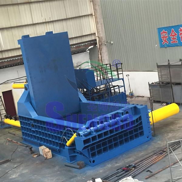 Hydraulic Automatic Steel Copper Aluminum Scrap Metal Baler (factory)
