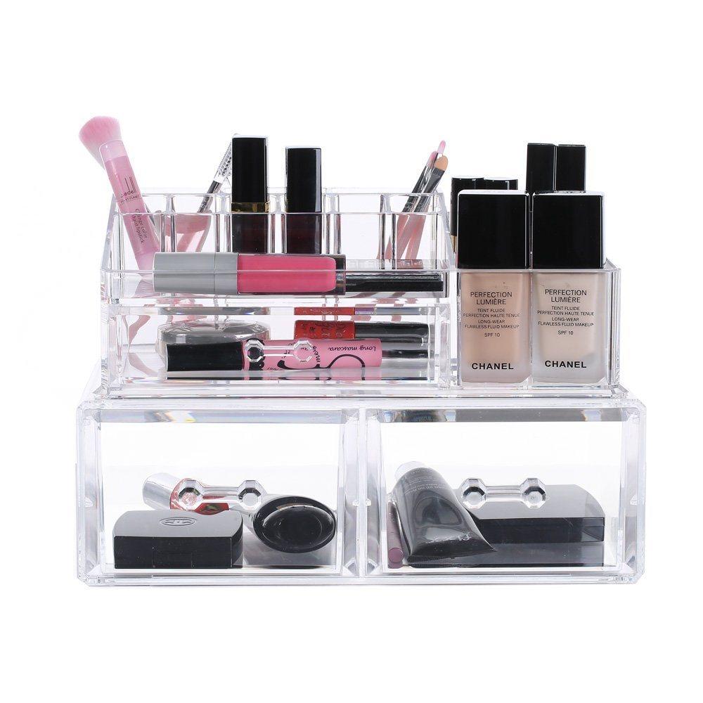 Acrylic Jewelry Case, Cosmetic Storage Display, Acrylic Boxes