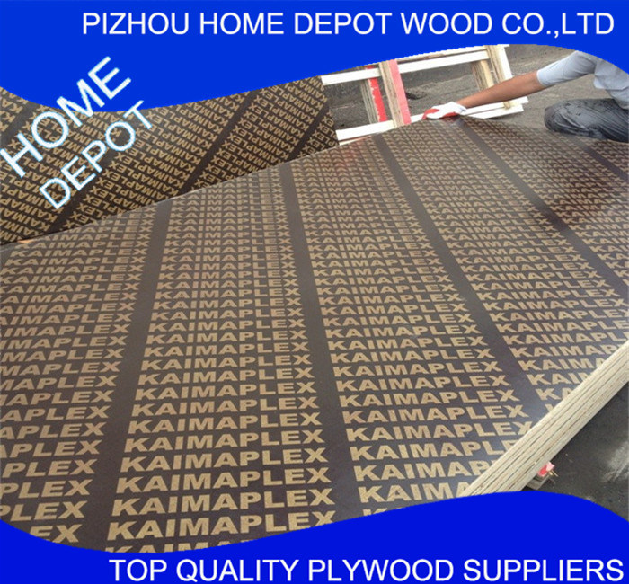 Marine Plywood, Film Faced Plywood for Construction 4*8 Size pictures & photos