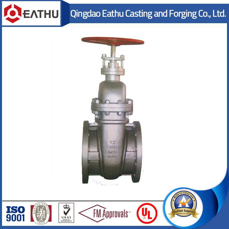 DIN3352 F4 Cast Iron Pn16 Gate Valve