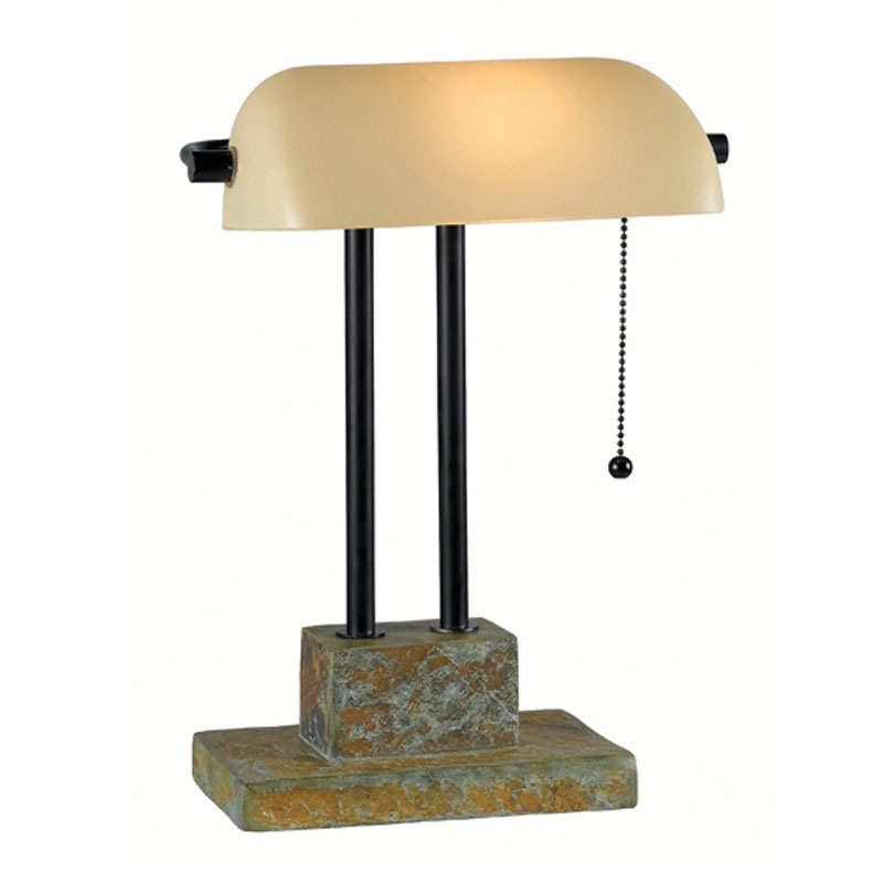 Hotel Slate Desk Lamp for Indoor