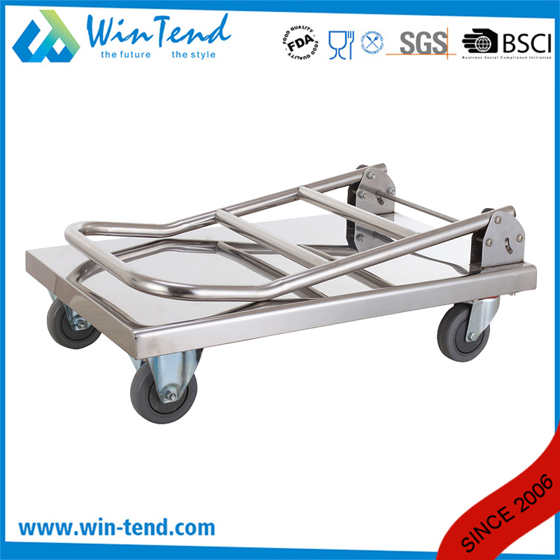 Hand Push Moving Foldable Flatform Trolley Truck for Multi Purpose