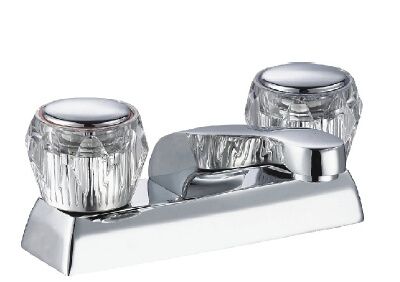 """Brass 4"""" Basin Faucet with Chrome Plated"""
