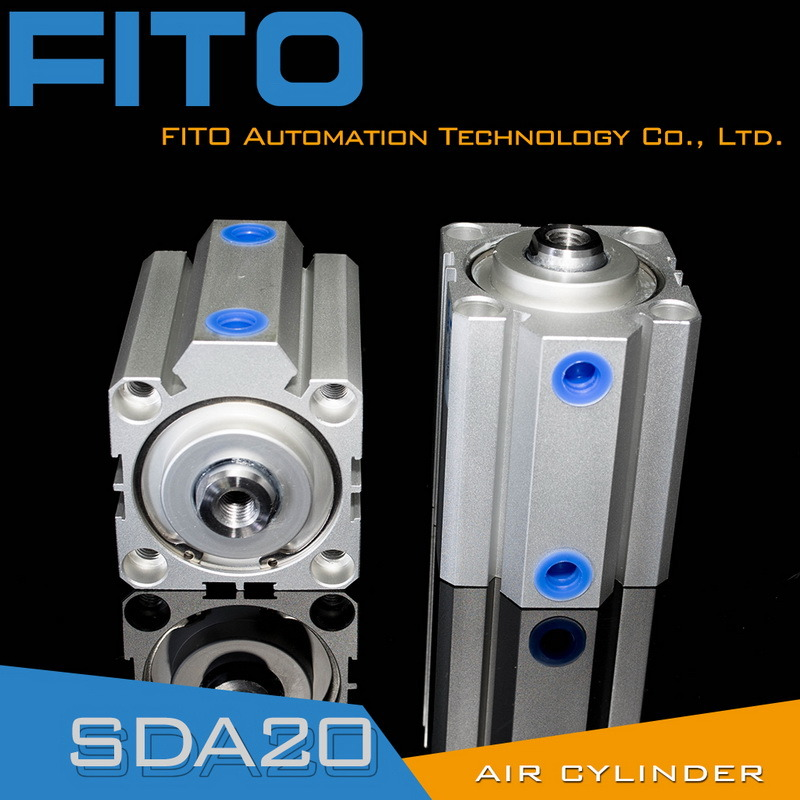 Sda20 Series Airtac Type Compact Pneumatic Air Cylinder