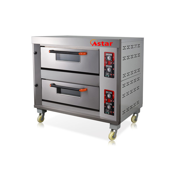 2 Deck 4 Trays Kitchen Oven Catering Bakery Equipment for Food