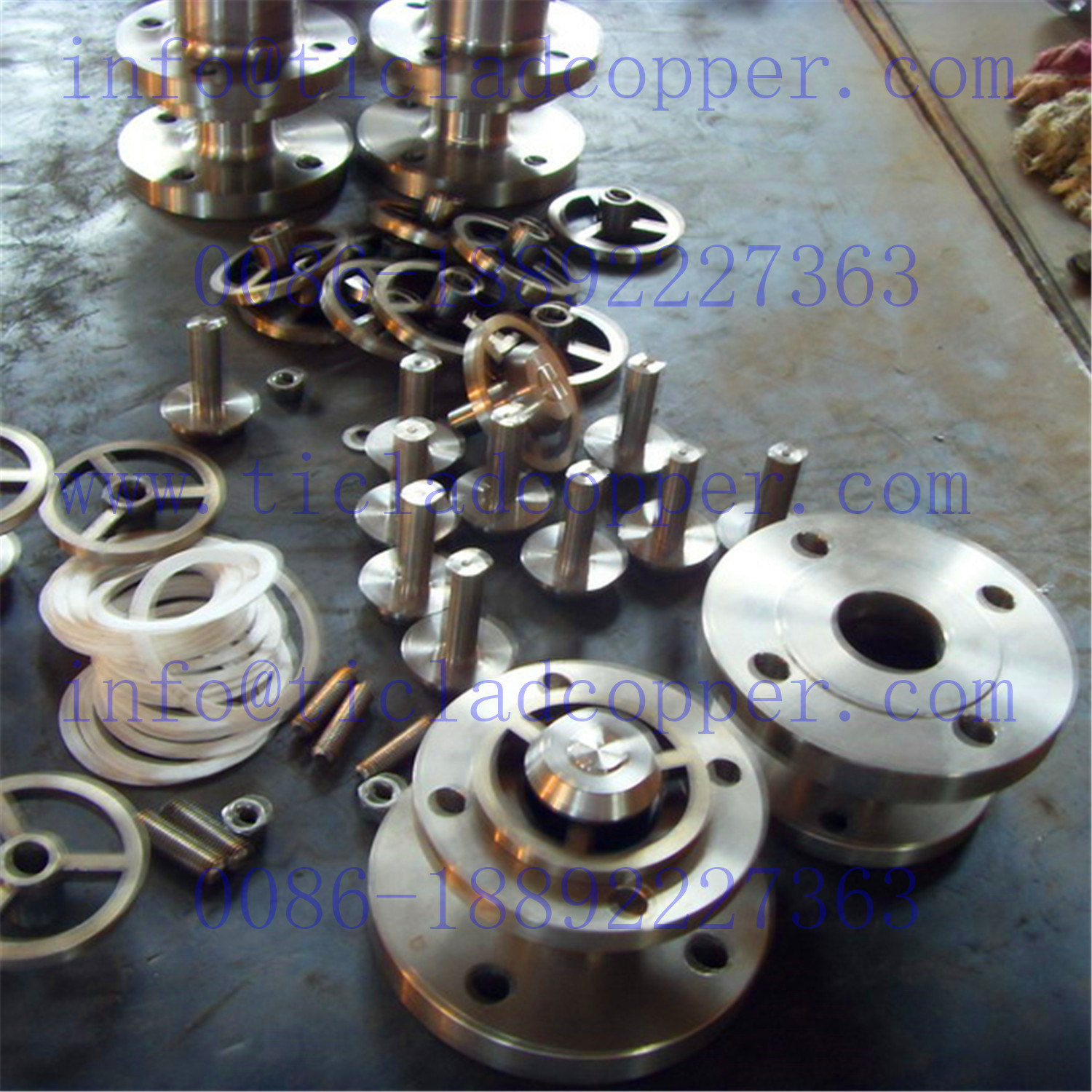 Titanium Valve / Stainless Steel Bottom Valve