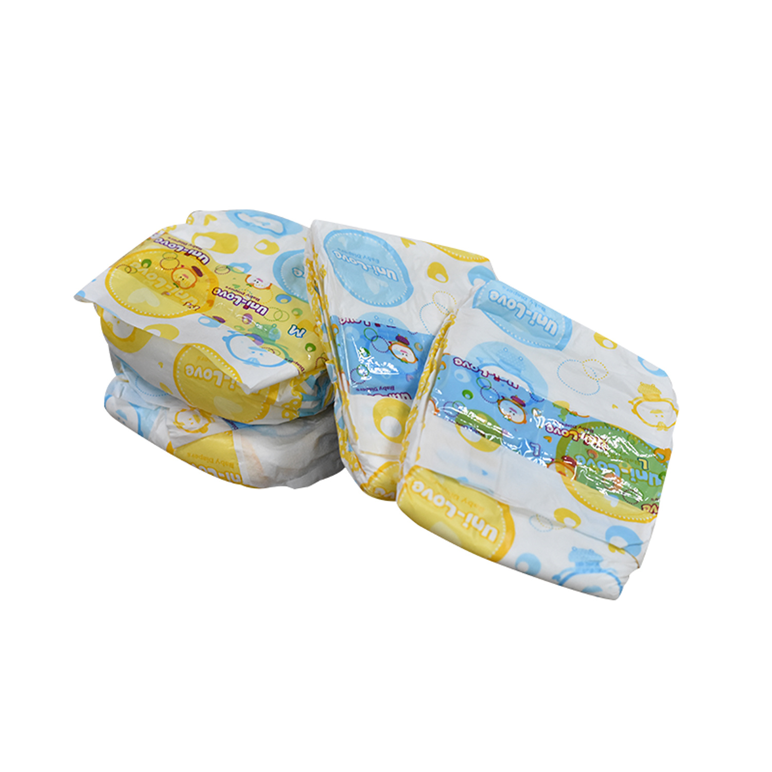 Disposable OEM PE Film Back Sheet Incontinence Baby Diapers Dry Surface
