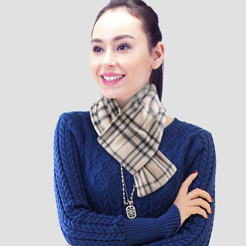 Rechargeable Soft Foldable Warm Heated Scarf for Winter
