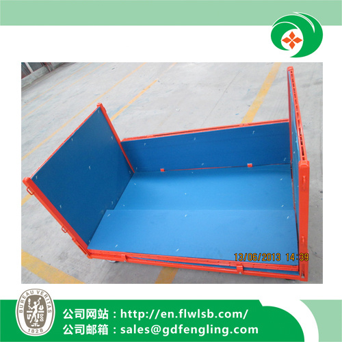 Collapsible Roll Container for Warehouse Storage with Ce Approval