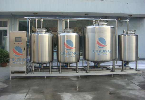 Stainless Steel Acid and Caustic Soda Cleaning Machine for Dairy Industry, Food and Beverage Industry, etc