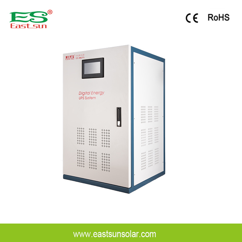 1kVA to 400kVA Pure Sine Wave Double Conversion Low Frequency Online UPS Power Supply