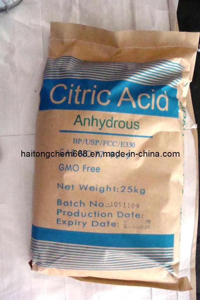 Citric Acid Anhydrous (Food additive BP/USP/FCC)