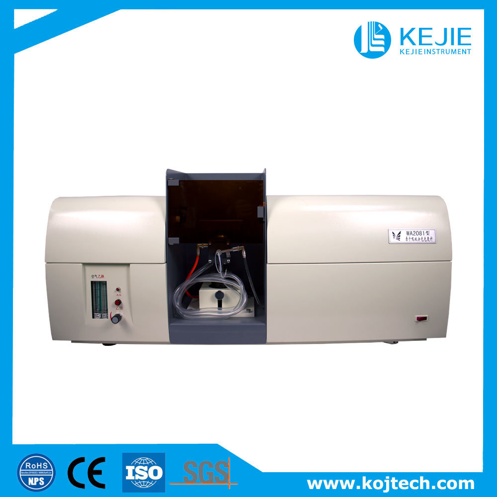 Ethyne-Air Flame Atomic Absorption Spectrophotometer/Hollow Cathode Lamps Aas