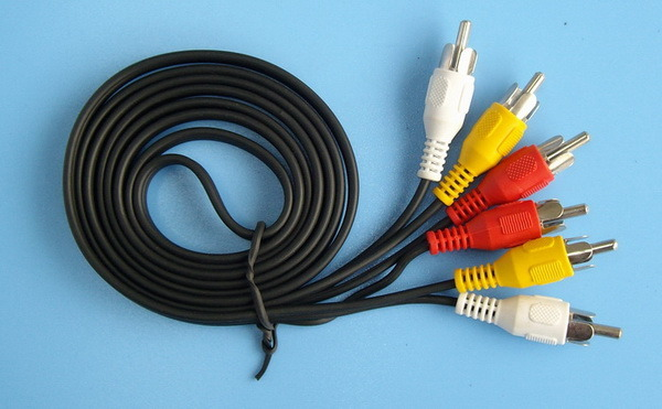 hacer cable por video componente