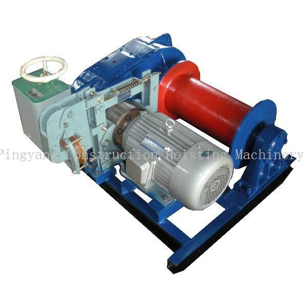 Wire Pull Winch with Hydraulic Brake