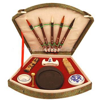 China Calligraphy Set (WS03) - Chinese Calligraphy Set, Chinese Brush