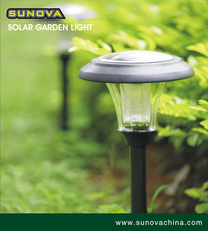 Solar Garden Light China: China Solar Garden Light (TM1218AP-4MU)