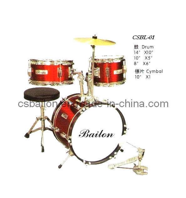 Drum Set (CSBL-01)