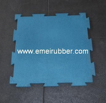 Sport-Lock Rubber Tile/Interlocking Rubber Tile