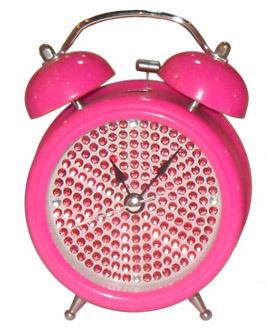 Metal Bell Alarm Clock (KV204b-1)