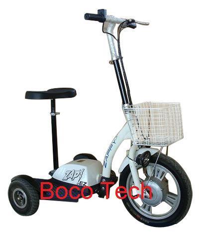 ZAPPY 3 Pro Flex- Front Basket - 3 Wheel Electric Bicycles