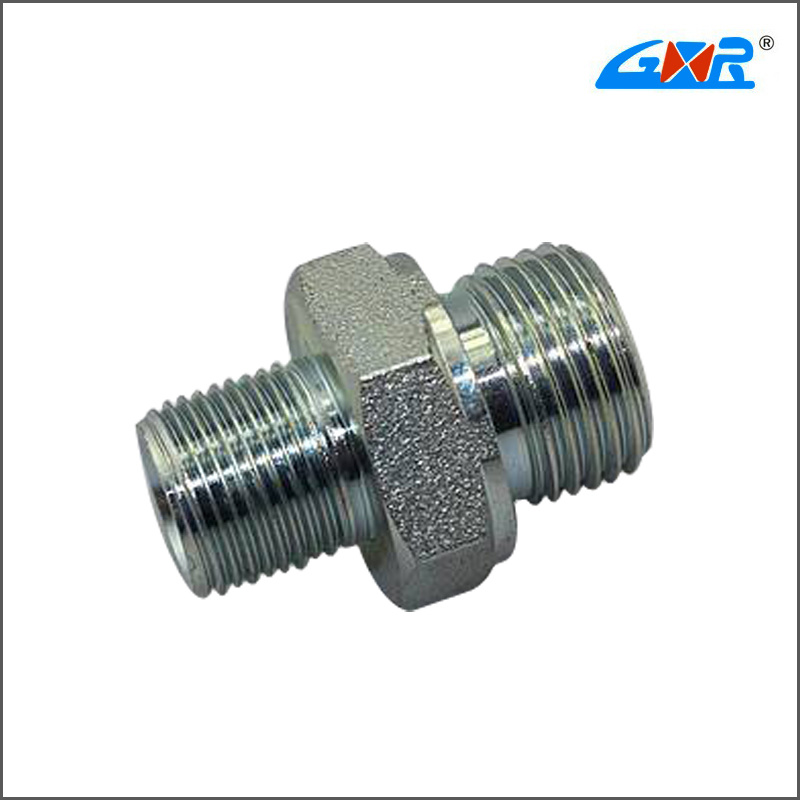 Bsp Male Double Use for 60 Degree Cone Seat or Bonded Seal Npt Male Fitting
